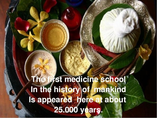 The first medicine school In the history of mankind Is appeared here at about...