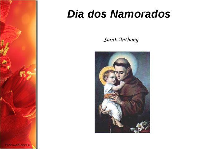 Dia dos Namorados Saint Anthony ProPowerPoint.Ru