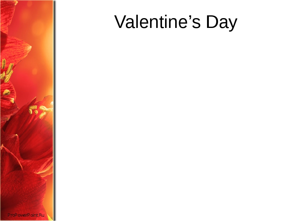 Valentine's Day ProPowerPoint.Ru