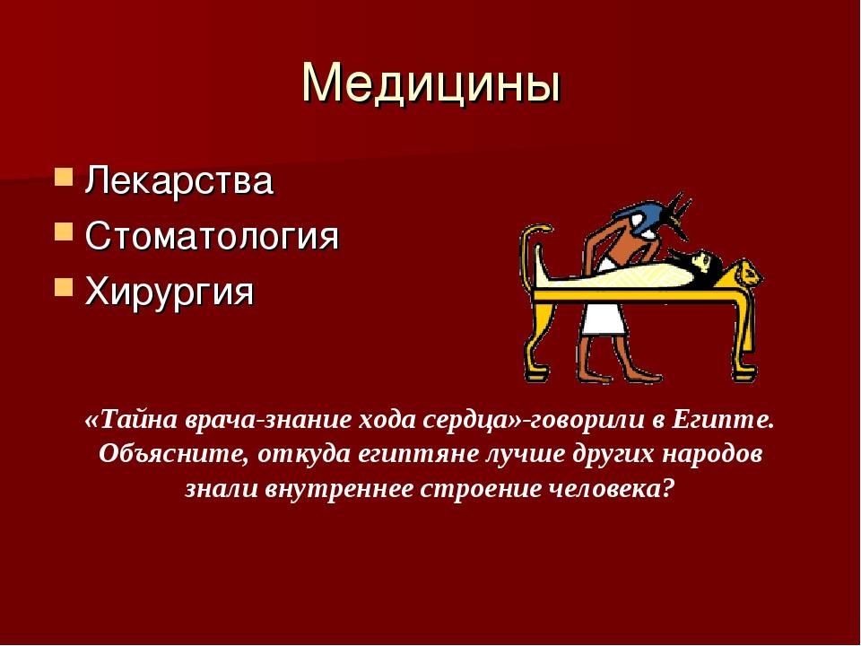 Медицины Лекарства Стоматология Хирургия «Тайна врача-знание хода сердца»-гов...