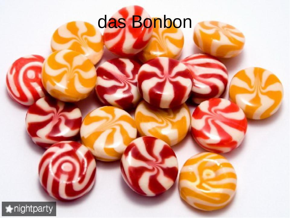 das Bonbon