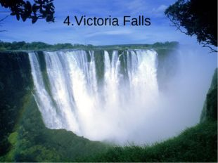4.Victoria Falls