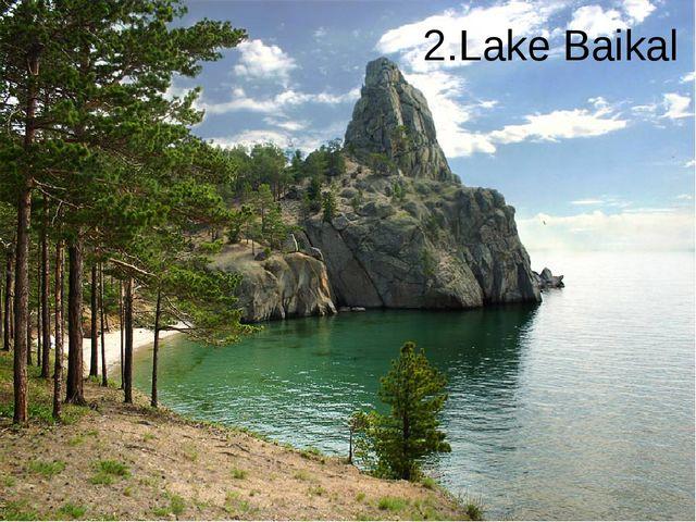 2.Lake Baikal