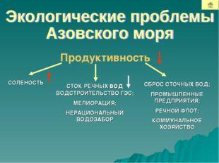 Продуктивность СТОК РЕЧНЫХ вод ВОДСТРОИТЕЛЬСТВО ГЭС; МЕЛИОРАЦИЯ; НЕРАЦИОНАЛЬН