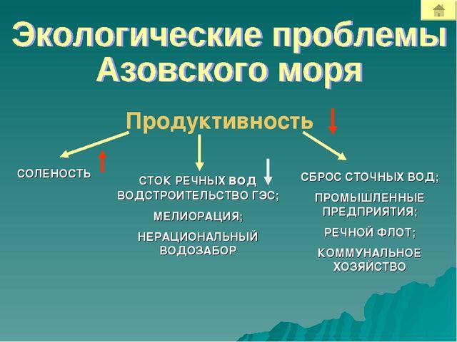 Продуктивность СТОК РЕЧНЫХ вод ВОДСТРОИТЕЛЬСТВО ГЭС; МЕЛИОРАЦИЯ; НЕРАЦИОНАЛЬН...