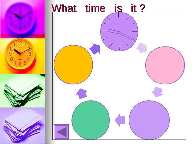 What time is it ? __