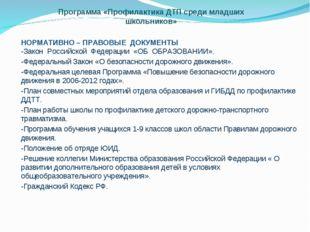 НОРМАТИВНО – ПРАВОВЫЕ ДОКУМЕНТЫ -Закон Российской Федерации «ОБ ОБРАЗОВАНИИ».
