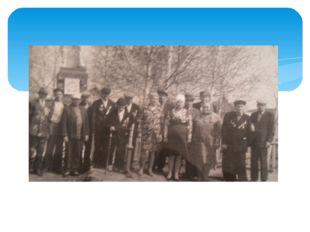 Ветераны Великой Отечественной войны с. Тавели на празднование в День Победы