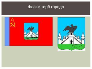 Флаг и герб города