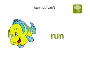 run can not/ can't