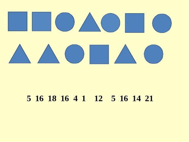 5 16 18 16 4 1 12 5 16 14 21