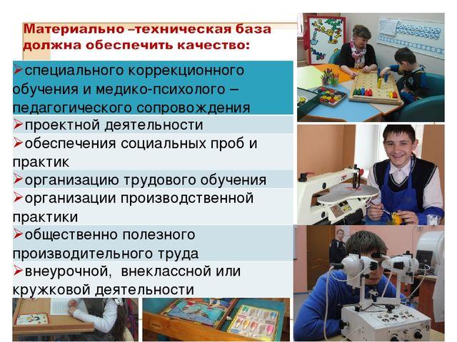 * специального коррекционного обучения и медико-психолого –педагогического со...