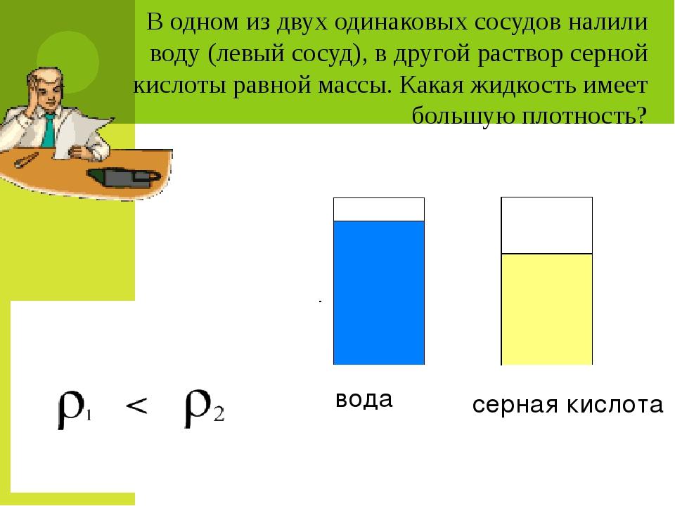 На рисунке изображены два кубика одинакового объема из золота и меди. У како...