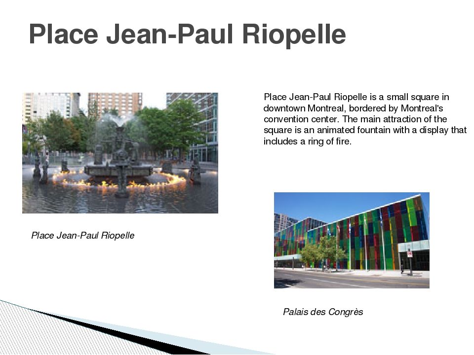 Place Jean-Paul Riopelle Place Jean-Paul Riopelle is a small square in downto...