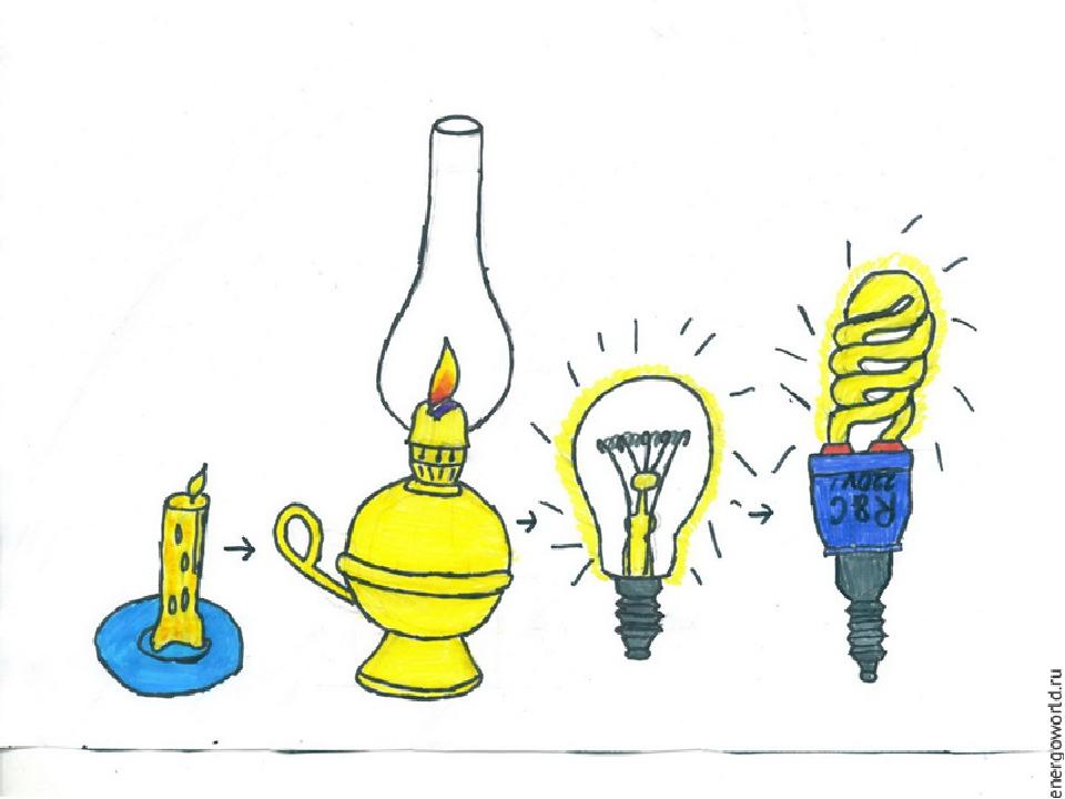 Рисунок ко дню энергетика свет приносит радость