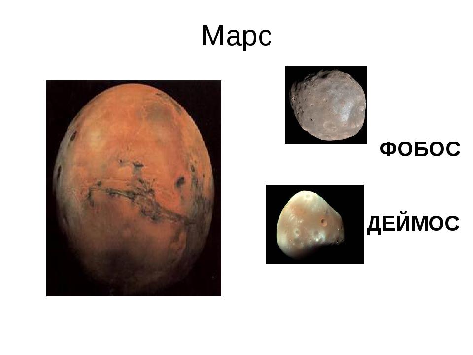 Марс ФОБОС ДЕЙМОС