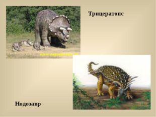 Трицератопс Нодозавр