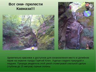 Вот они- прелести Кавказа!!! Удивительно красивое и доступное для ознакомлени