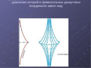 Трактриса. Эвольвента цепной линии, плоская кривая, уравнение которой в прямо