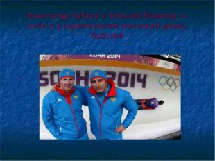 Александр Зубков и Алексей Воевода — золото в соревновании экипажей-двоек, бо