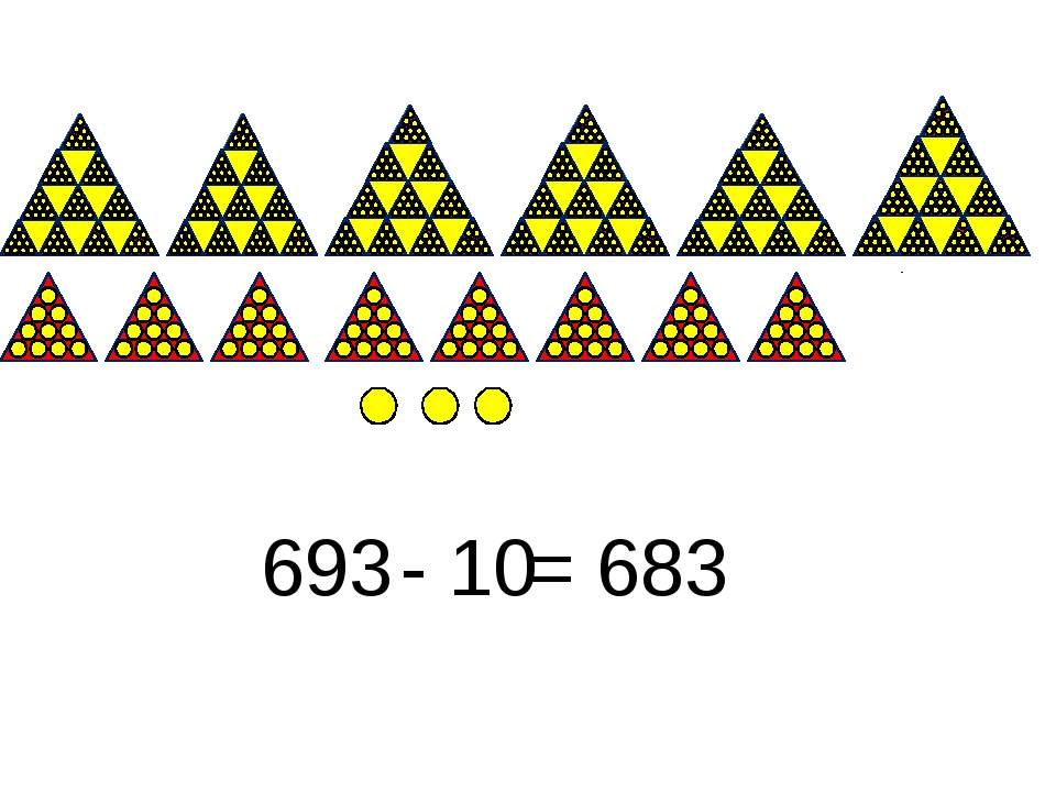 693 - 10 = 683
