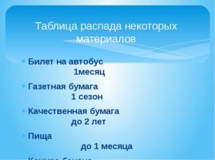 Билет на автобус 1месяц Газетная бумага 1 сезон Качественная бумага до 2 лет