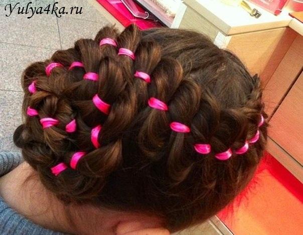 Прически с короткими волосами для девушек фото пошагово
