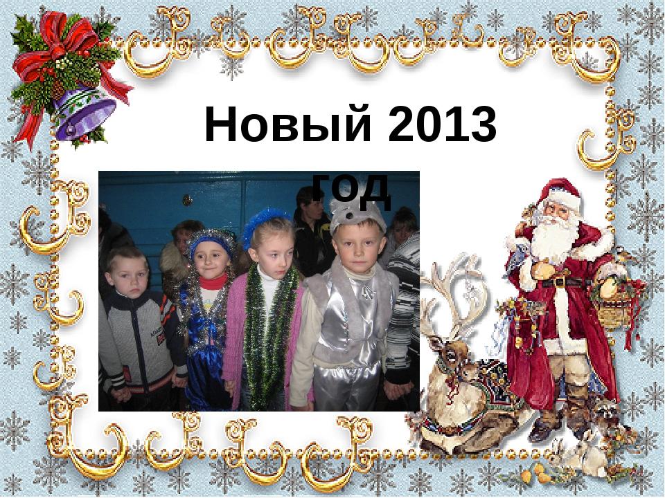 Новый 2013 год