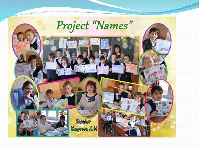 Проект «Имена»