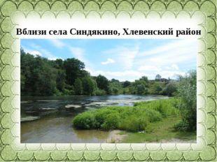 Вблизи села Синдякино,Хлевенскийрайон