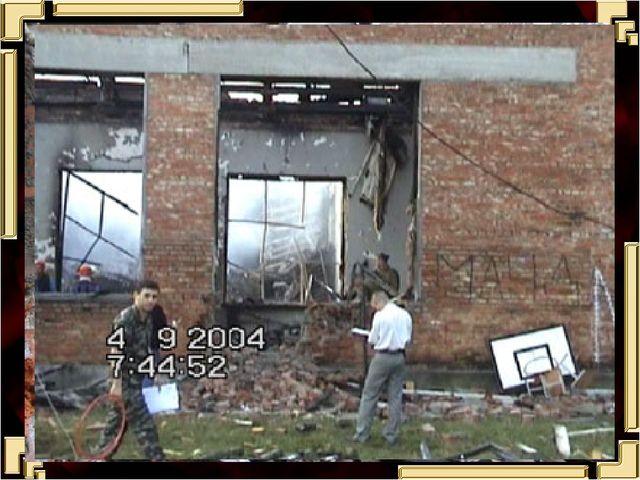 """Из протокола осмотра места происшествия: """"Спортивный зал школы №1 города Бес..."""