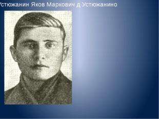 Устюжанин Яков Маркович д Устюжанино