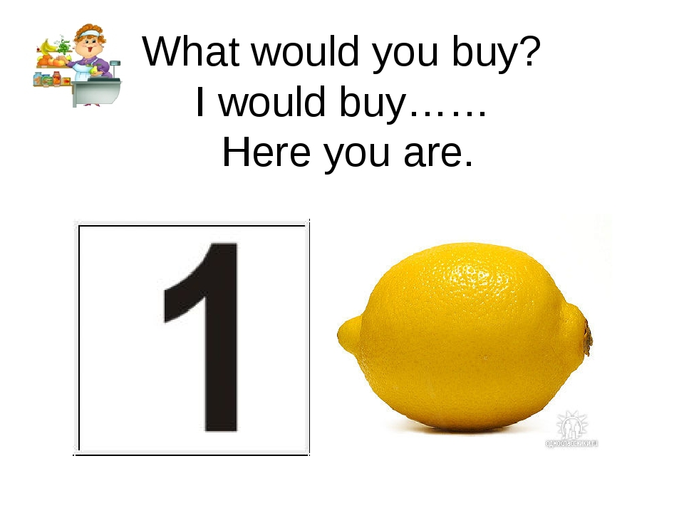 What would you buy? I would buy…… Here you are.