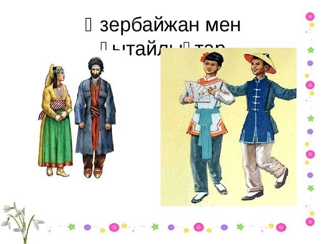 Әзербайжан мен қытайлықтар