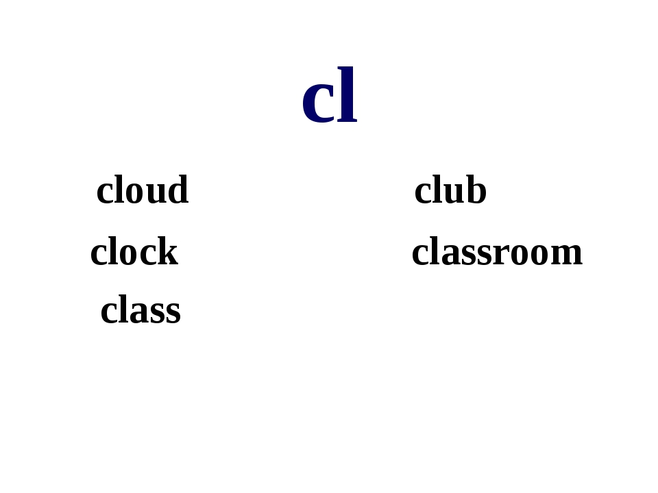 cl cloud club clock classroom class