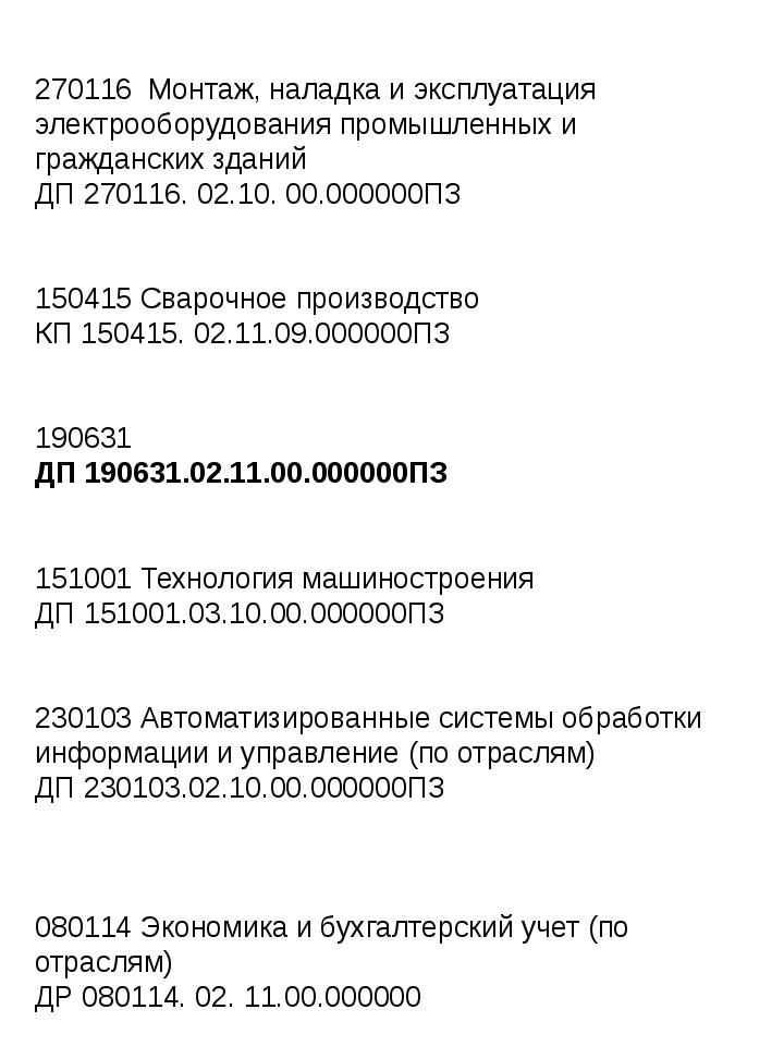 270116 Монтаж, наладка и эксплуатация электрооборудования промышленных и граж...