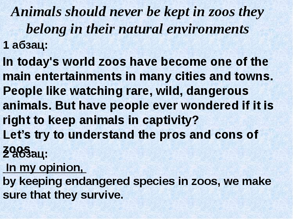 essay on pros and cons of zoos