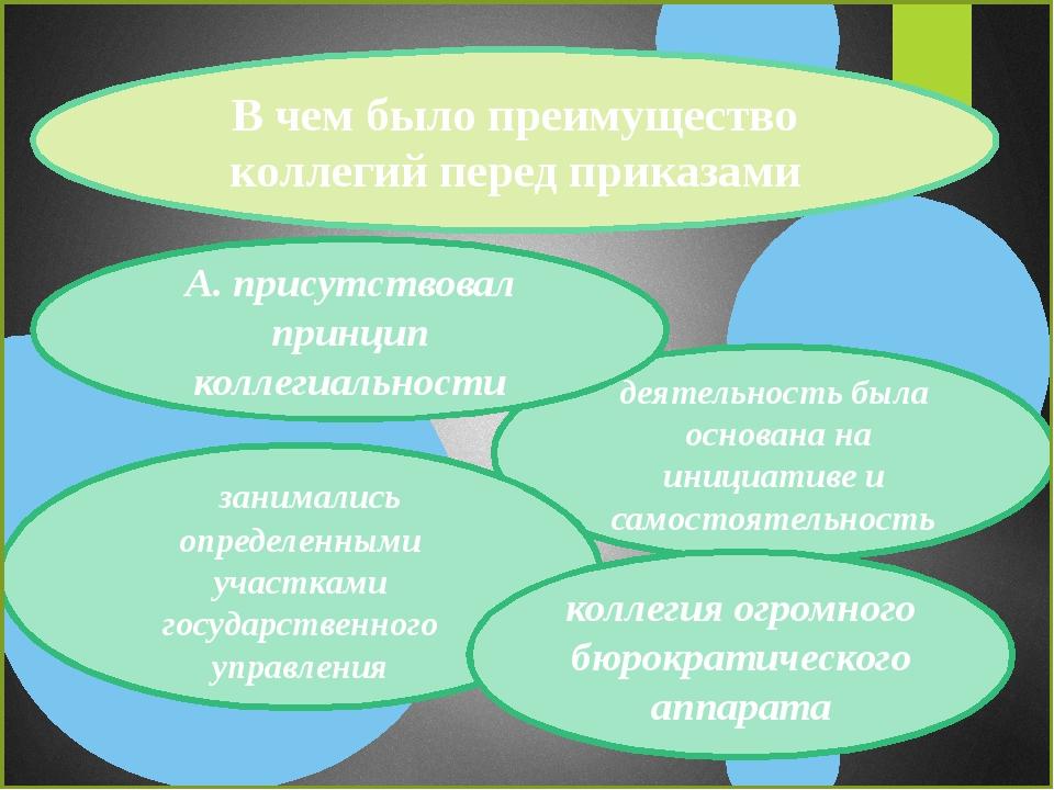 деятельность была основана на инициативе и самостоятельность В чем было преим...