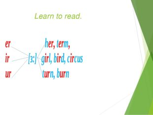 Learn to read.