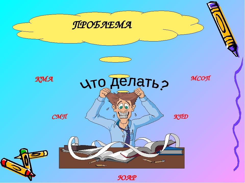 ПРОБЛЕМА КМА МСОП ЮАР КПД СМП