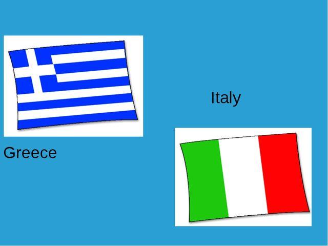 Greece Italy