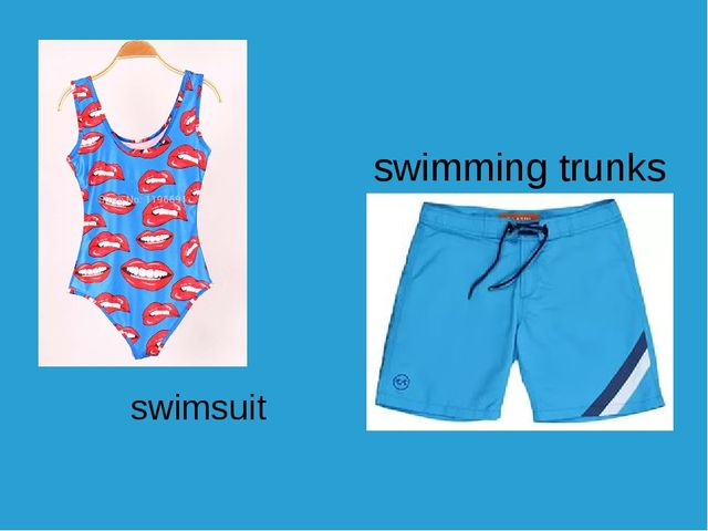 swimsuit swimming trunks