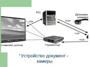 т Устройство документ - камеры