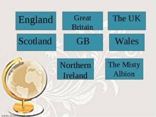 England Great Britain The UK Scotland GB Wales Northern Ireland The Misty Alb