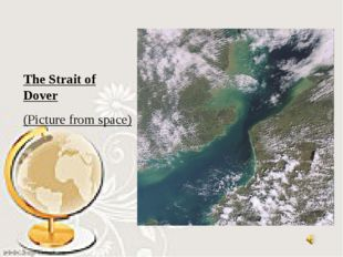 The Strait of Dover (Picture from space)