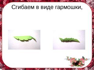 Сгибаем в виде гармошки, FokinaLida.75@mail.ru