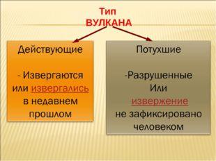 Тип ВУЛКАНА