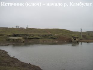 Источник (ключ) – начало р. Камбулат