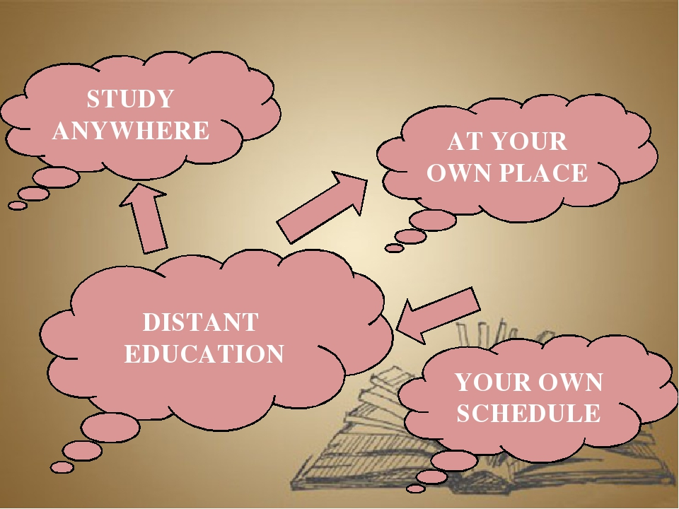 DISTANT EDUCATION STUDY ANYWHERE AT YOUR OWN PLACE YOUR OWN SCHEDULE
