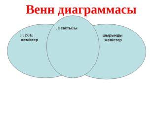 Құрғақ жемістер шырынды жемістер жемістер ұқсастығы Венн диаграммасы